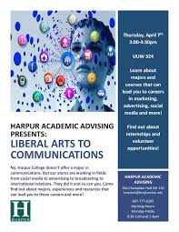 university programming outreach liberal arts to communications