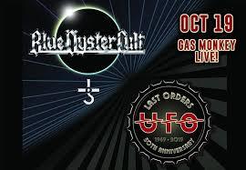 Blue Oyster Cult + <b>UFO</b> – Tickets – Gas <b>Monkey</b> Live! – Dallas, TX ...
