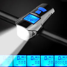 <b>4 Mode USB</b> Bike Light <b>Rechargeable</b> Bicycle Front Light Lamp 6 ...