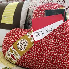 Project Idea | Pocket Full of Love Pillow project - Cloud9 Fabrics