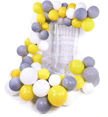 <b>METABLE 100 pcs</b> 10 inch Matte Balloons Pack of ballon Gray ...
