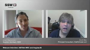 asp net mvc and angularjs scott allen ssw tv
