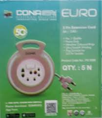 CONA Euro <b>2 Pin Extension Cord</b> at Rs 156 /piece | Extension ...