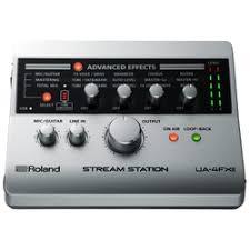 «<b>Внешняя студийная звуковая</b> карта Roland UA-4FX2 ...