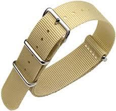 Beige - Watchbands / Watches: Clothing, Shoes ... - Amazon.com.au