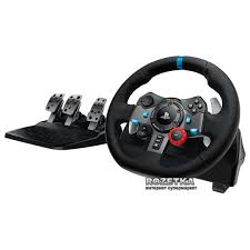 Проводной руль Logitech G29 Driving Force PC/PS3 ... - ROZETKA