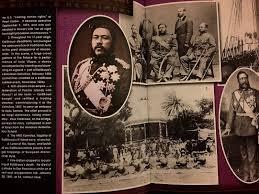 「第7代カラカウア国王と明治天皇」の画像検索結果