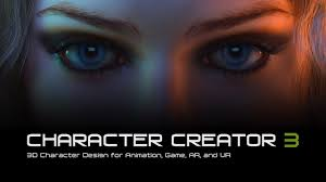 Character Creator 3 - <b>3D</b> Character Design for Animation, Game, AR ...