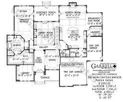 Mon Chateau Manor House Plan   Estate Size House Plansmon chateau manor house plan   st floor plan