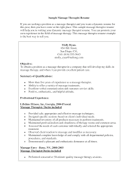 massage therapist resume sample massage therapist resume sample internet