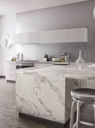 calacatta marble kitchen waterfall:  bdceeecfe