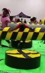Video of young boy sent flying by rotating arm inspires musical ... via Relatably.com