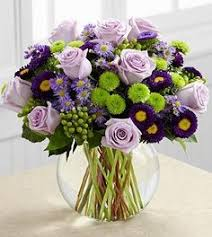 Image result for images for vase  of lavender/purple roses