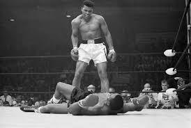 essay muhammad ali s rope a dope rally for truth set him muhammad ali taunting sonny liston