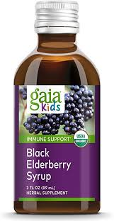 Gaia Herbs, Gaia Kids Black Elderberry Syrup ... - Amazon.com