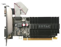 Купить <b>Видеокарта ZOTAC</b> GeForce <b>GT 710</b> 954Mhz PCI-E 2.0 ...