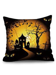 <b>Halloween Theme Patterned Decorative</b> Pillowcase #Ad ...