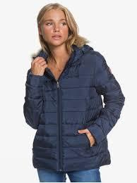 <b>Женская куртка Rock</b> Peak Fur ERJJK03392 | Roxy