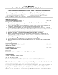 how to write a resume objective for customer service