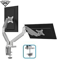 IMtKotW Dual Arm Monitor Stand - Height Adjustable <b>Full</b> Motion