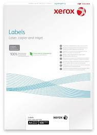 Бумага самоклеящаяся <b>Xerox</b> Labels <b>Laser</b>/<b>Copier</b>, матовая, A4 ...
