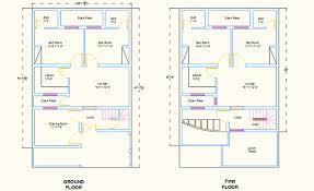 AutoCAD D House Plans on Behance Marla