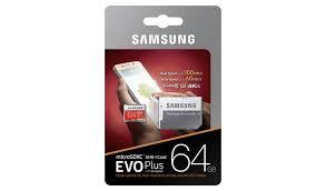 Buy <b>Samsung EVO Plus</b> Micro SDXC <b>Memory</b> Card - 64GB ...