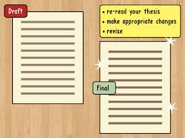 3 ways to write a thesis statement wikihow
