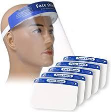 PLESON 5PCS Face Shield Full Face Protect Eyes ... - Amazon.com