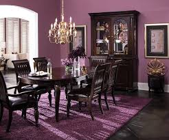 room furniture dark wood classic  they were in my dining room with this color scheme the purple on the