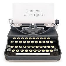 resume critique elite resume studio resume critique