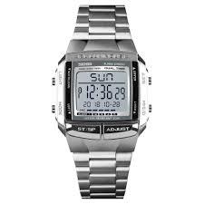 Drop Shipping# SKMEI Brand <b>Men's</b> Sports Watches New <b>Full Steel</b> ...