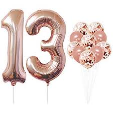 13th Birthday Decorations Party supplies-13th ... - Amazon.com