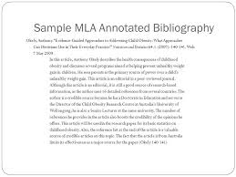 Examples Of Annotated Bibliography In Apa Format  th Edition     Sacred Heart University Library