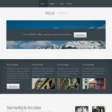 the easiest way to create a full featured great looking website altitude