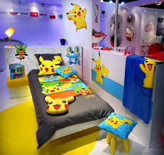 Pokemon Bedroom Decor Unlike Most Of The Nerd Rooms I Have Seen This Setup Seems To