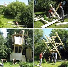 Modern Magic  Building a Treehouse for Kids  Plans  amp  Pics