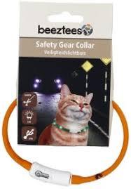 """Ошейник для собак """"Beeztees"""", <b>силиконовый</b>, светящийся, с USB ..."""