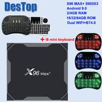 from China <b>X96 MAX</b> PLUS (S905X3) Suppliers at DesTop Store on ...