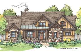 Plan of the Week  Over sq ft   The Cloverbrook  plan   A    Plan of the Week  Over sq ft   The Cloverbrook  plan   A rustic two story design   an open floor plan  http     dongardner com plan d