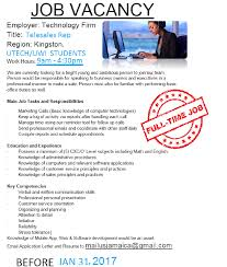 tele s representative needed for it firm in kingston tele s representative needed for it firm picture