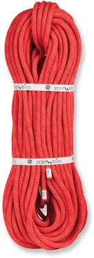 <b>Веревка динамическая Edelweiss Flashlight</b> II 10 мм, красная, 60 м