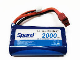 <b>Аккумулятор Spard LiIon Battery</b> 2S1P 7.4V <b>2000mAh</b> 15C T-Plug ...