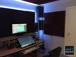 Piccolo Sala Registrazione : Trattamento acustico regia home studio