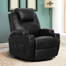Esright <b>Massage Recliner</b> PU Leather Ergonomic Lounge Heated ...