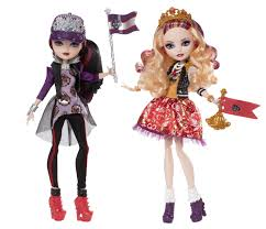 amazon com ever after high school spirit apple white and raven amazon com ever after high school spirit apple white and raven queen doll 2 pack discontinued by manufacturer toys games