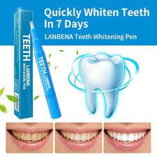 LANBENA <b>Teeth Whitening Pen Tooth</b> Whitening Gel White <b>Teeth</b> ...