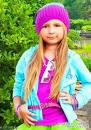 Девочка маленькая модная