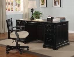 confortable black office desk easy home design ideas amusing black office desk