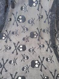 <b>Halloween</b> fabric, <b>Skull</b> fabric, <b>Skull lace</b> fabric, Dem Bone fabric ...